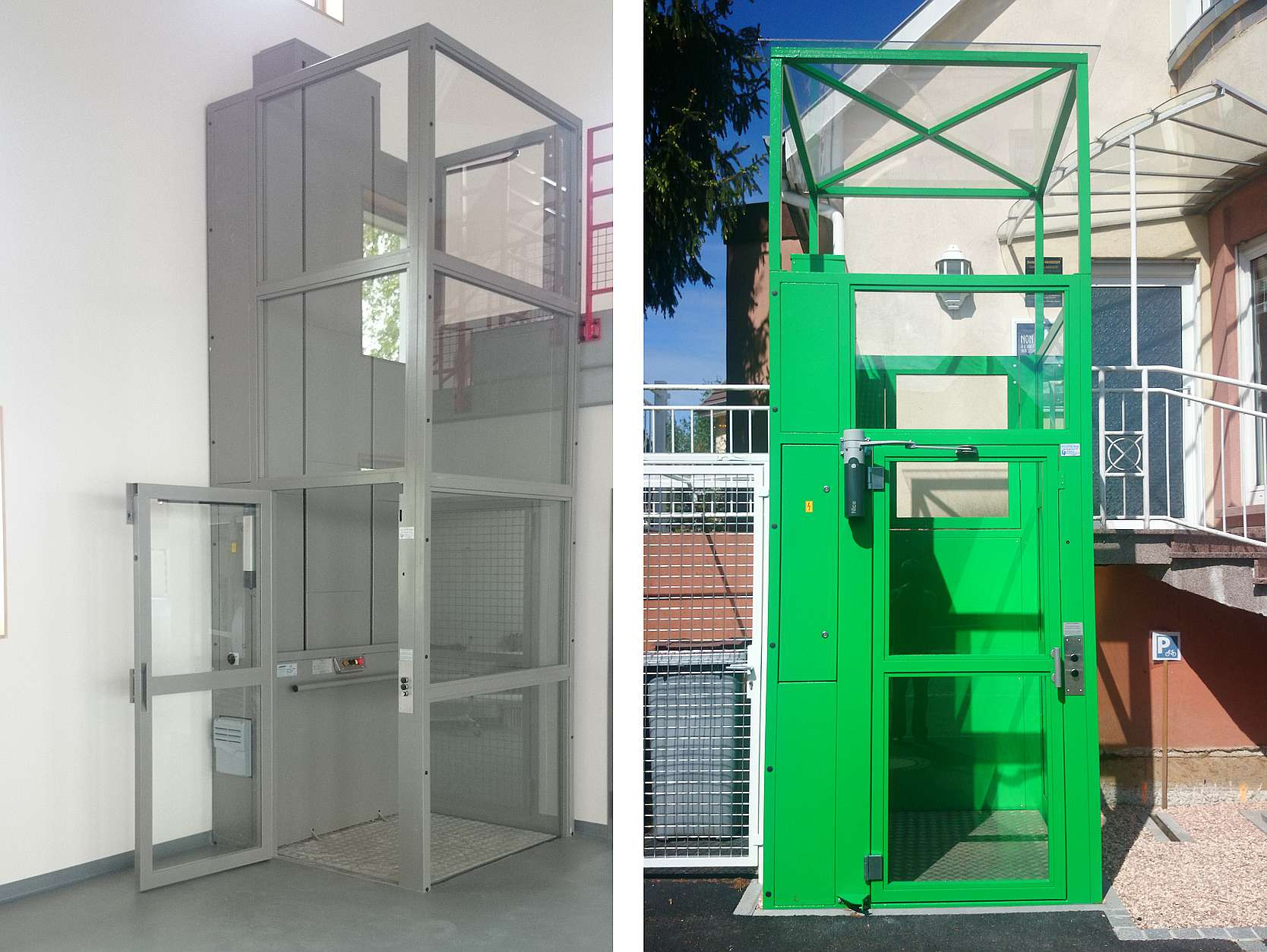 Alpin - vertical platform lift