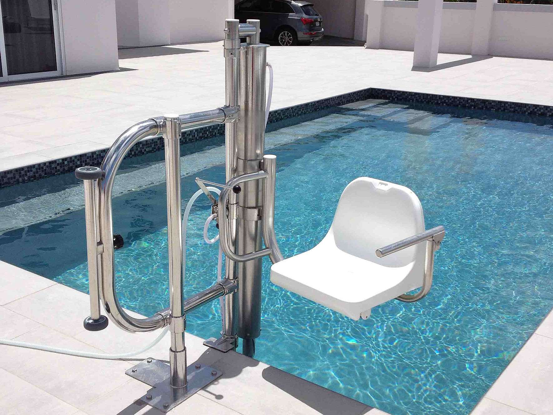 Poollift stainless steel