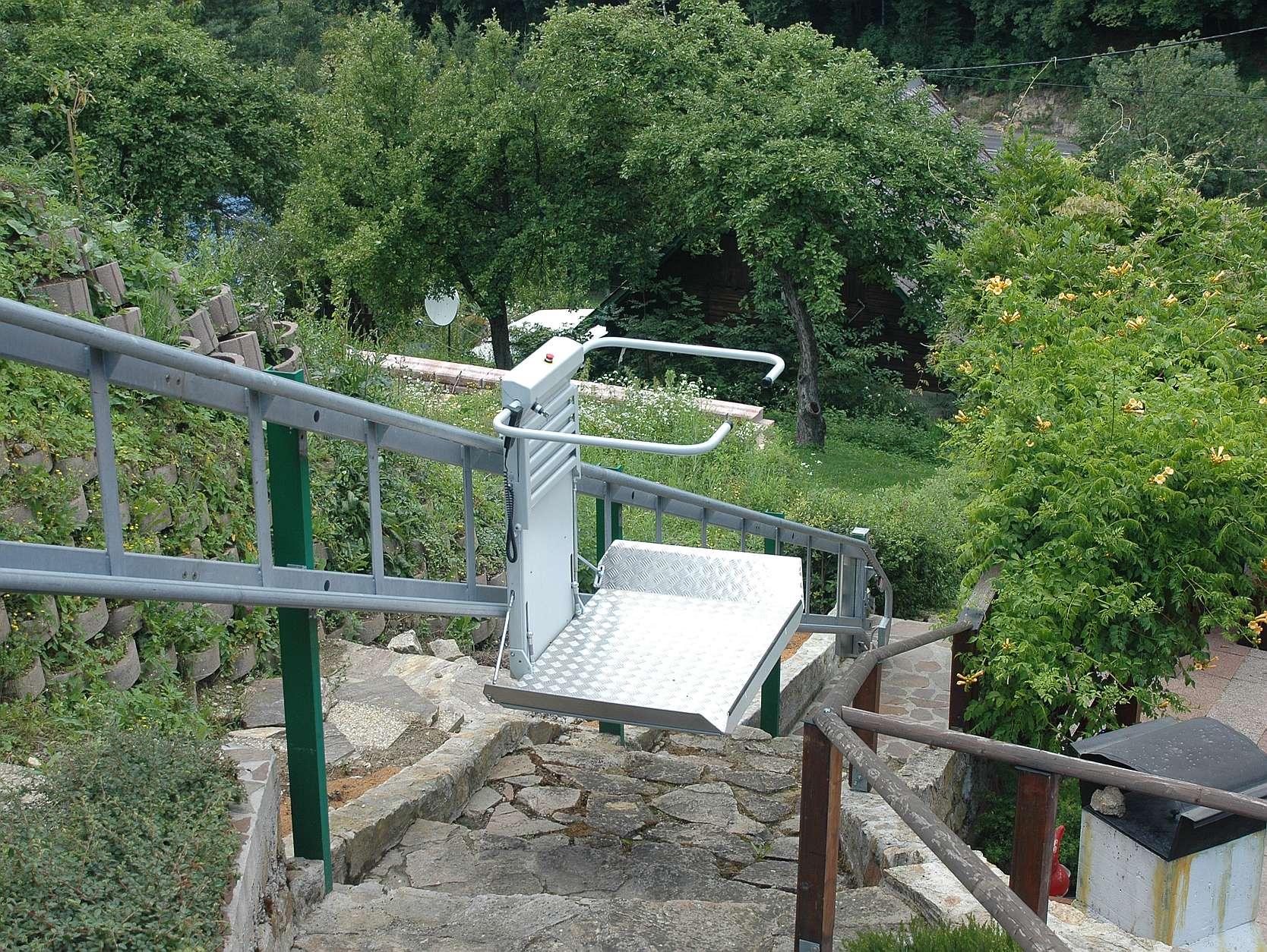 Plattform Treppenlift Außenbreich