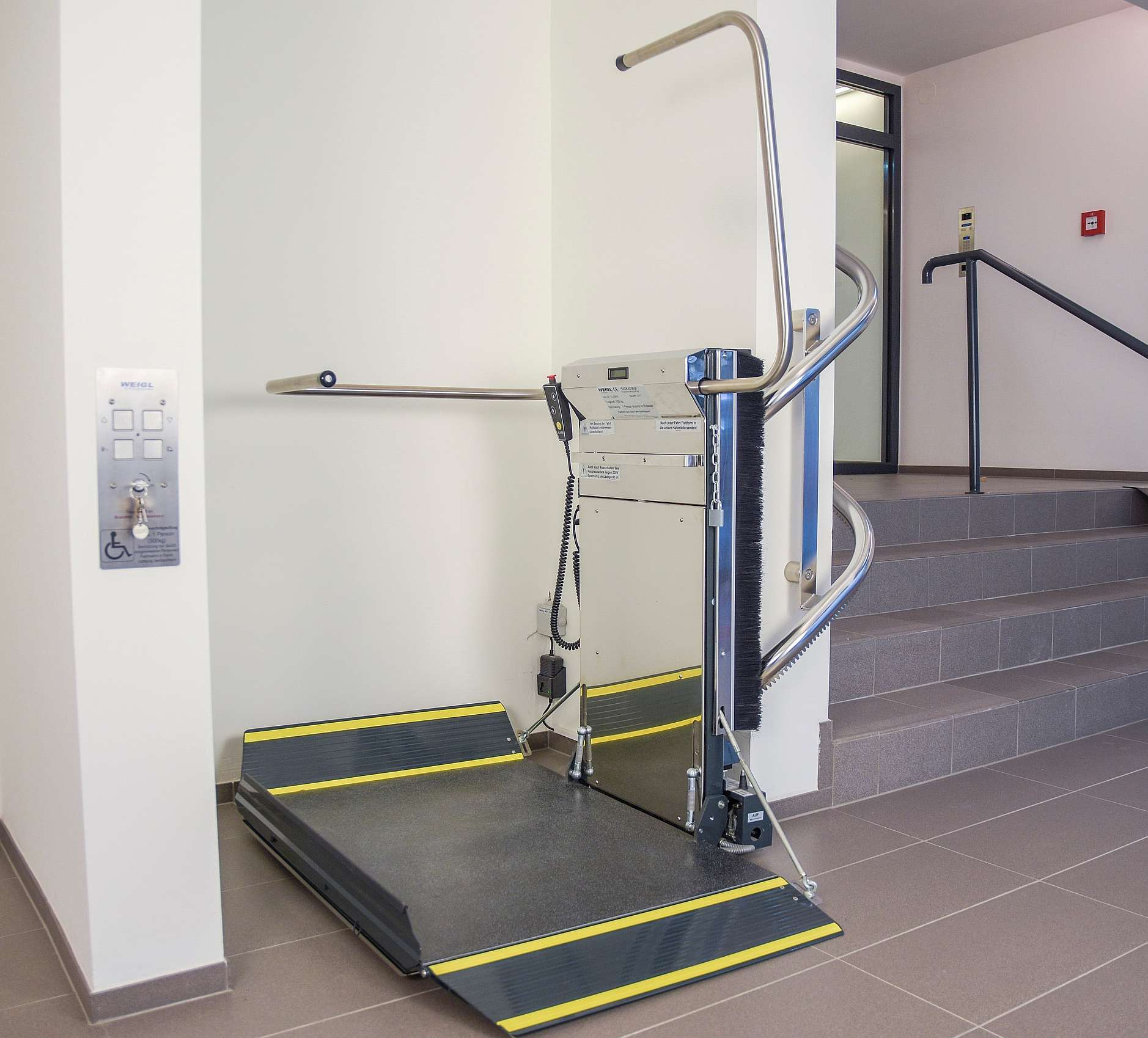Wheelchair stairlifts Lehner