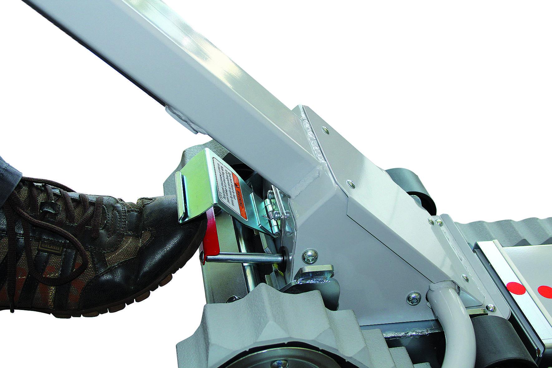 Oruga Salvaescaleras móvil para silla de ruedas