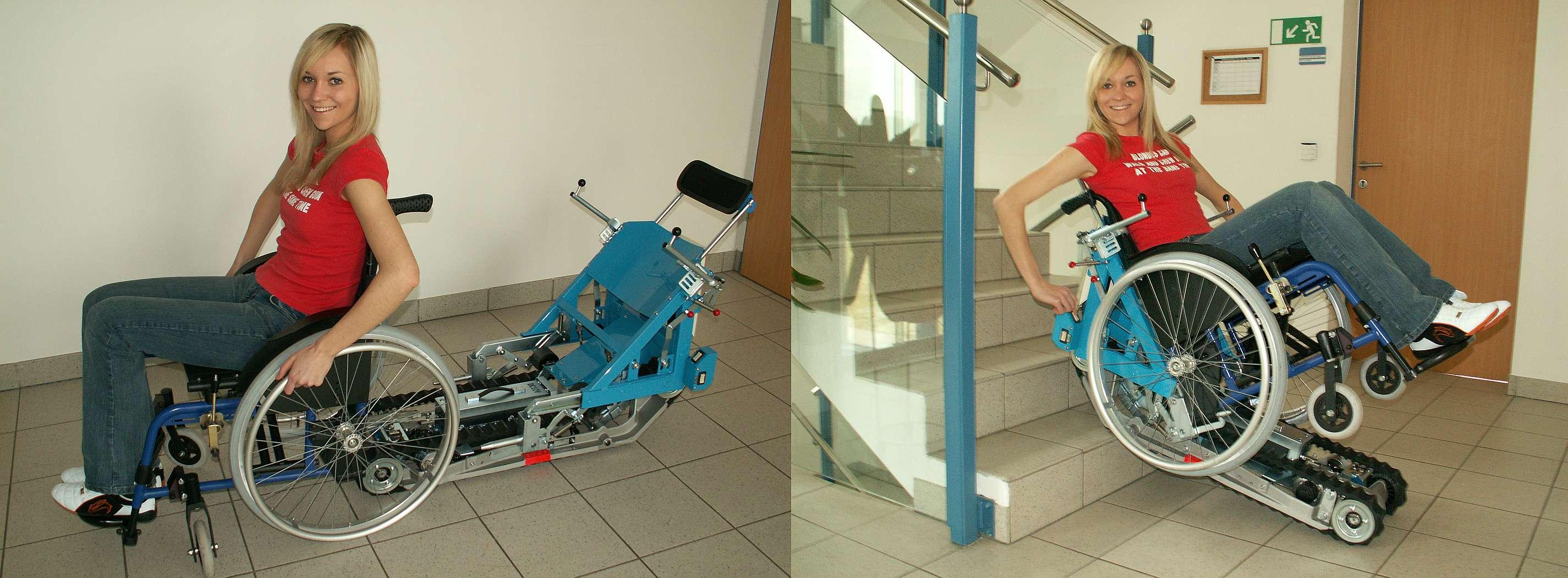 Monte-escalier mobile autonome