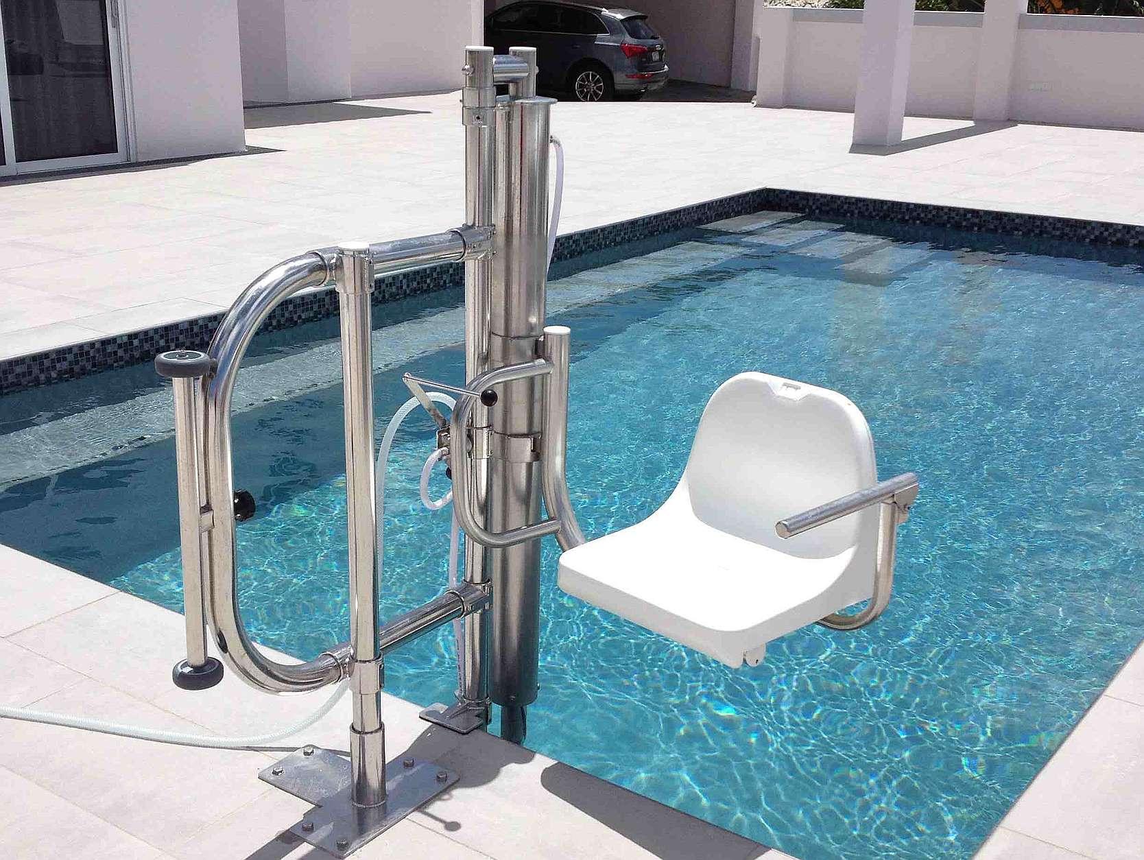 Elevador ascensor de piscina