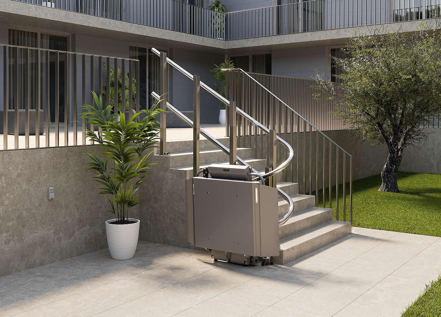 Plate-forme monte-escalier Stratos