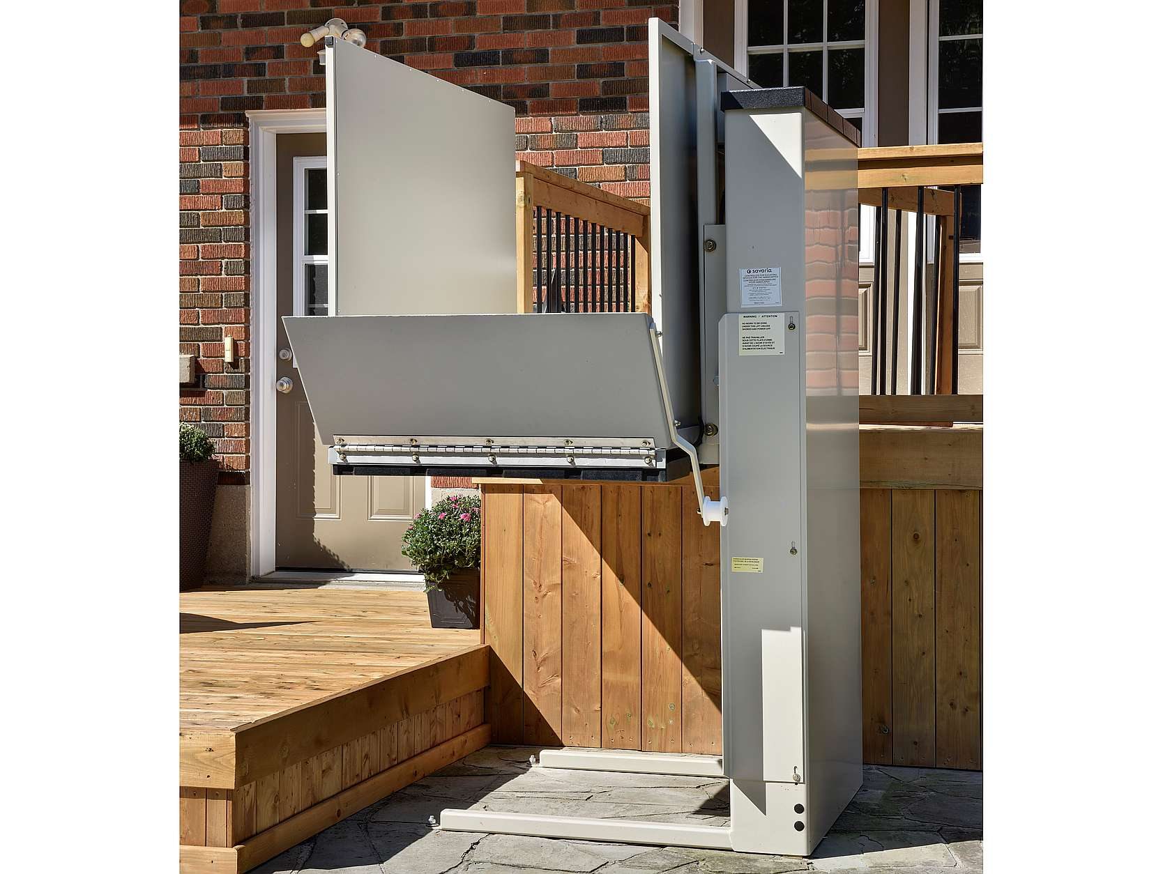 Elevex Vertical platform lift, wheelchair lift