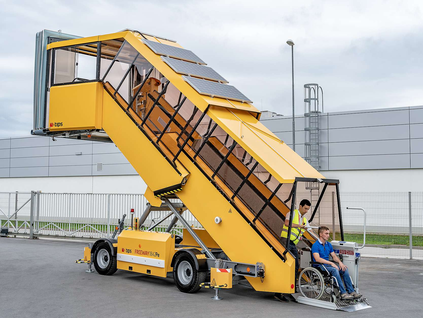 Airplane stairlift